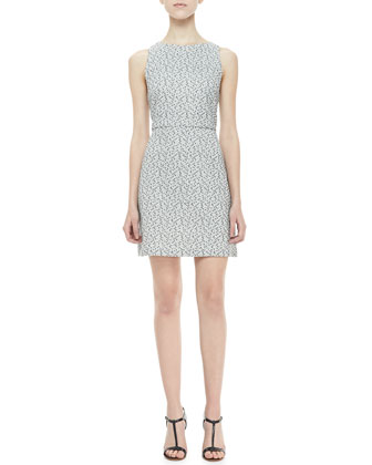 Eli Sleeveless Textured Dress