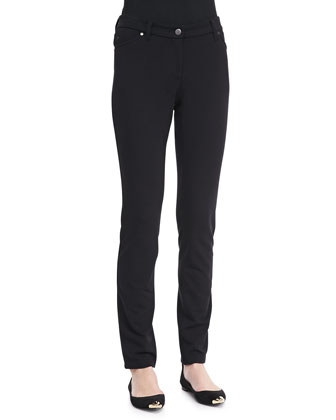French Terry Skinny Pants