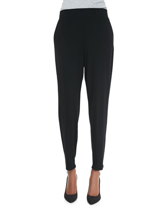 Slouchy Tapered Pants