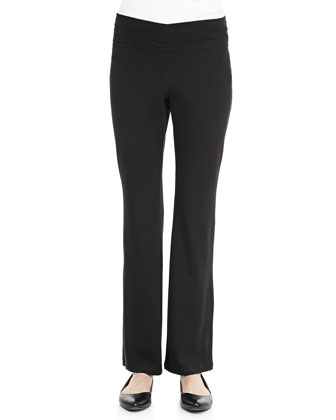 Stretch Jersey Yoga Pants, Women's