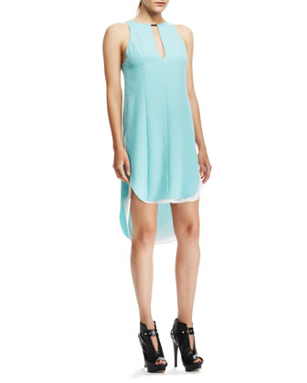 Alyna Layered Crepe Dress