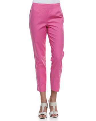 Cropped Bleecker Pants