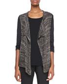 Zareen Open-Front Sweater