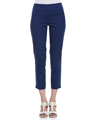 Stanton Cropped Pants, Luna Blue