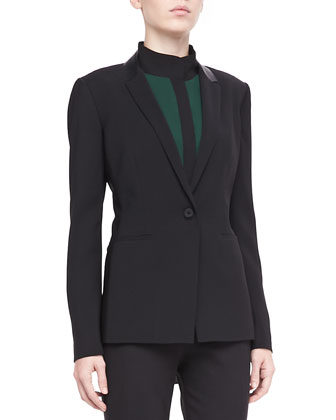 Nayarit One-Button Jacket