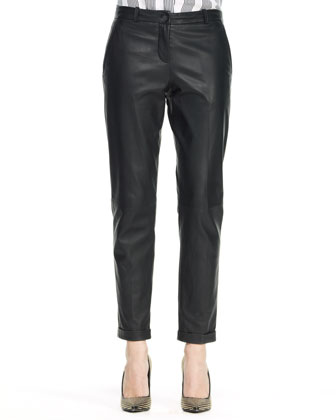 Kanga L Magazine Leather Pants