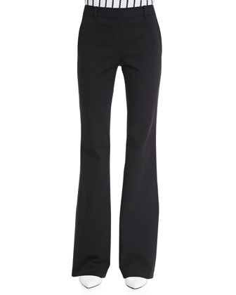 Fiola Boot-Cut Trousers