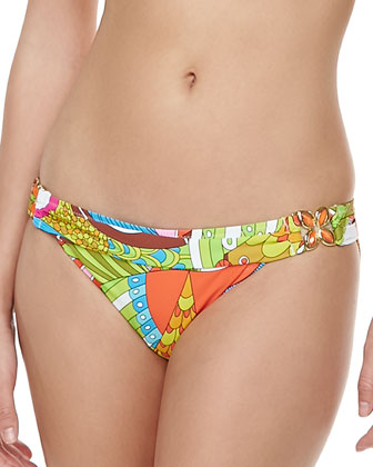 Santa Cruz Buckled Hipster Swim Bottom