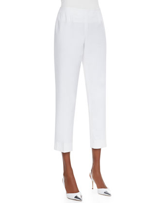 Cropped Bleecker Pants