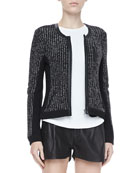 Paula Knit Zip Jacket