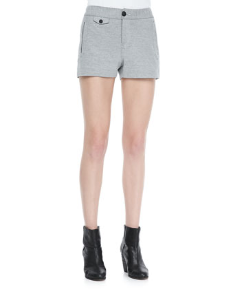 Tatiana Cotton Pocket Shorts