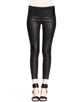 Daria Cropped Combo Leggings