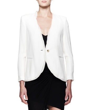 Relic Twist-Trim Blazer and Slack Twist Jersey Dress