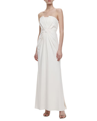 Convertible Straps Floor-Length Gown