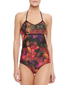 The Tropicana Floral-Print One-Piece Swimsuit