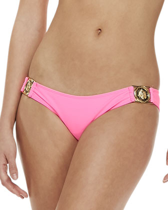 Jackpot Bandeau Swim Top & Bellagio Medallion Swim Bottom
