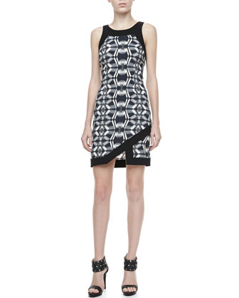 Cicely Sleeveless Printed Dress
