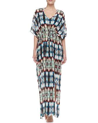 Long Chakhi Coverup Caftan