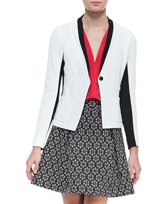 Captivated Two-Tone Jacket, Lawless Stud-Trim Sleeveless Top & Perfect ...