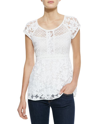 Kiss In The Dark Lace Top