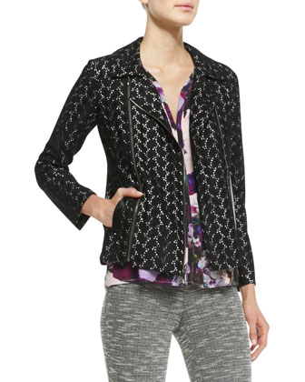 Love Lace Zip Jacket