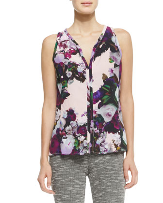Crazy For You Floral-Print Top