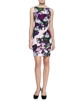 Forbidden Love Floral-Print Dress