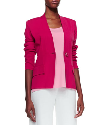 Tyler One-Button Jacket, Women's