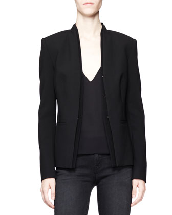 Hale Double-Layer Blazer