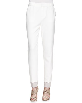 Marianne Straight-Leg Trousers