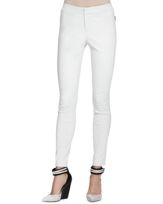 Beryl Skinny Leather Pants