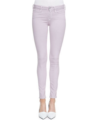 Cocoon V-Neck Short-Sleeve Tee & Riley Lightweight Legging Jeans
