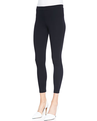 Cropped Jersey Leggings, Coastal