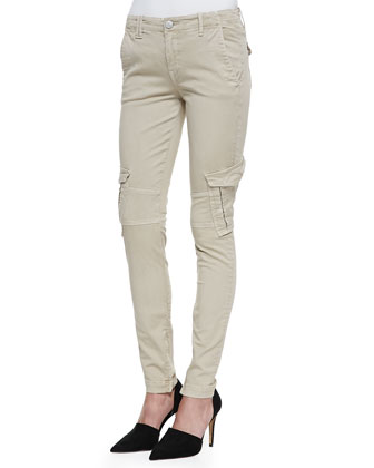Slim-Fit Cargo Pants