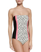 Veranda Colorblock One-Piece Swimsuit