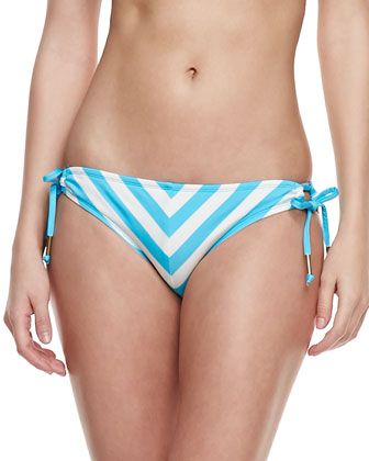 Cabana-Stripe Swim Bottom