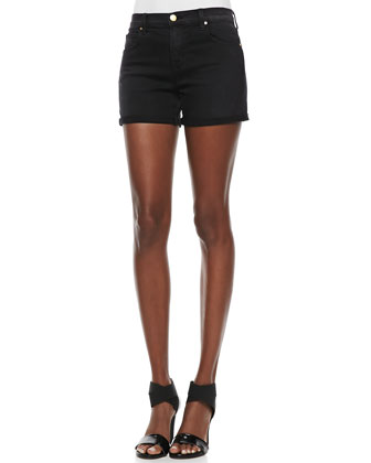 Leigh Alley Cat High-Rise Shorts