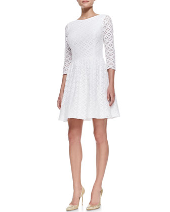 Lori XOXO Lace Dress