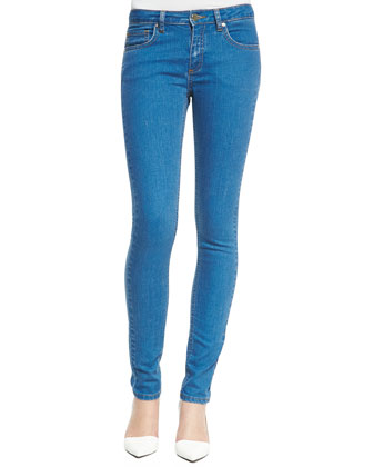 Japan Half-Sleeve Top & Super Skinny Denim Jeans
