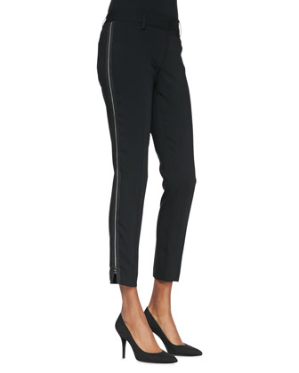 Raquel Side-Zip Pants