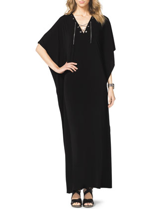 Chain-Lace Caftan