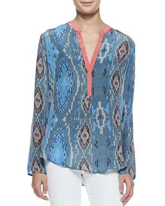 Tenille Silk Blouse, Women's