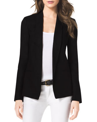 Structured Linen Blazer