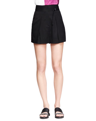 Static Jacquard Knit Pullover and Cove High-Waist Shorts