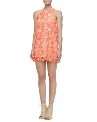 Spellbound Sleeveless Lace Dress