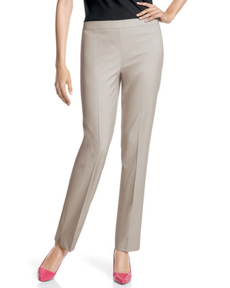 Wool-Stretch Bleecker Pants, Mist