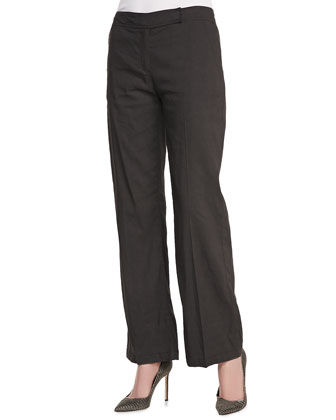 Straight-Leg Trousers, Women's