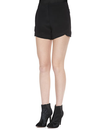 Kaelin Silk Shorts