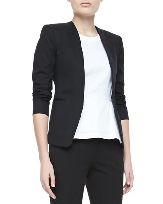 Tadean TS Cotton Open-Front Jacket