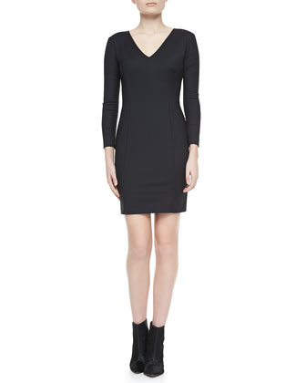 Nortina W Bracelet-Sleeve Dress